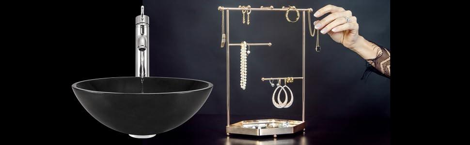 Élégance & Glamour dans votre salle de bain.