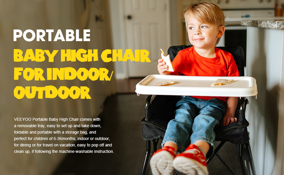 portable baby high chair for baby