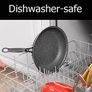 easy to clean frypan dishwashersafe