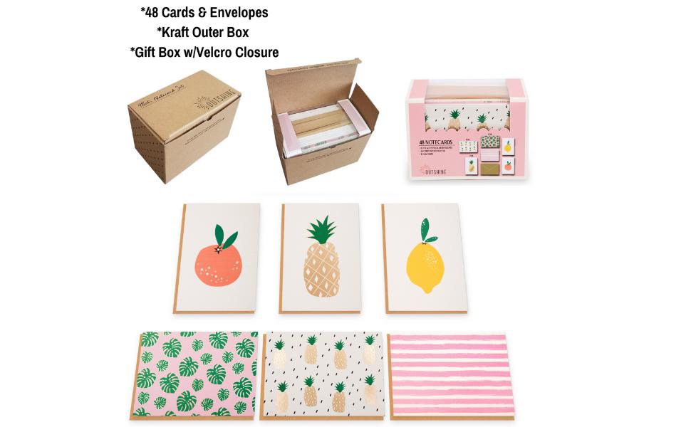 gratitude stationary set and envelope greeting assortment box cute teacher notecards floral paper
