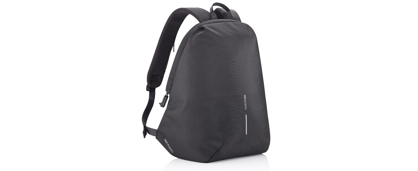 xd design, bobby soft, bobby soft zwart, bobby rugzak, bobby zacht, anti diefstal rugzak