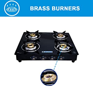 4 gas stove brass burners; 4 stove gas burners; gas burners 4; gas stove; gas stove glass top