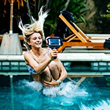 pool party underwater phone case housing