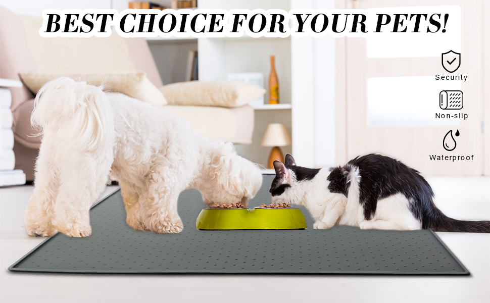 dog cat feeding mat
