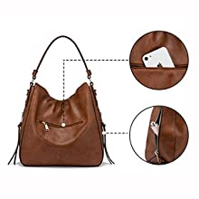 Concealed carry hobo purse hobo bag