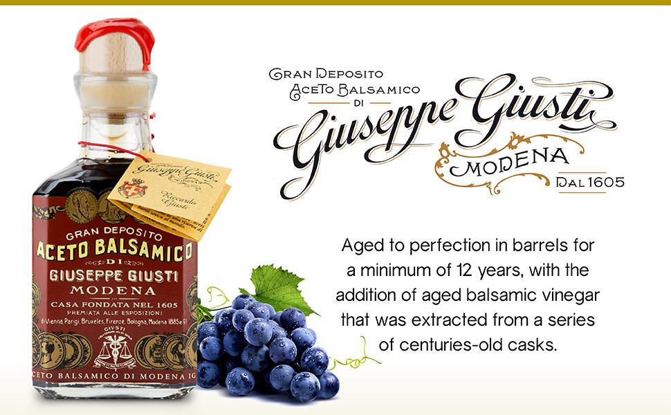 giuseppe giusti 3 gold medals balsamic vinegar of modena