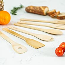Includes A Variety Of Popular Cooking Utensils