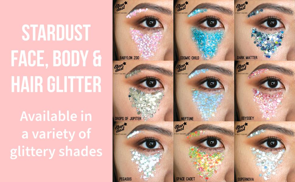 Stardust Face, Body & Hair Glitter