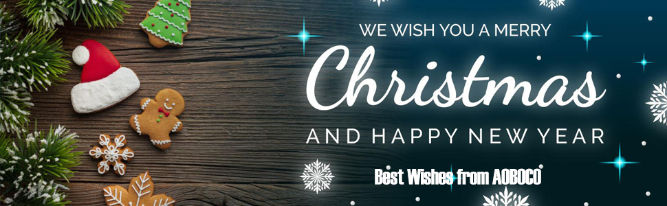 Gifts and best wishes for you and everyone you love from AOBOCO