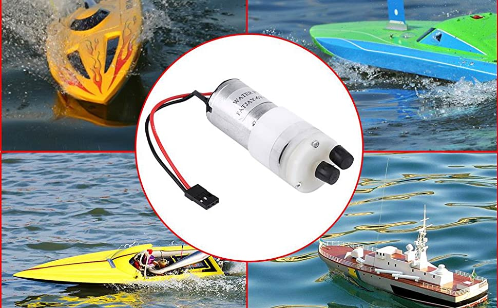 Motor Water Pump Motor Cooling RC Boat Easy installation System Long lasting