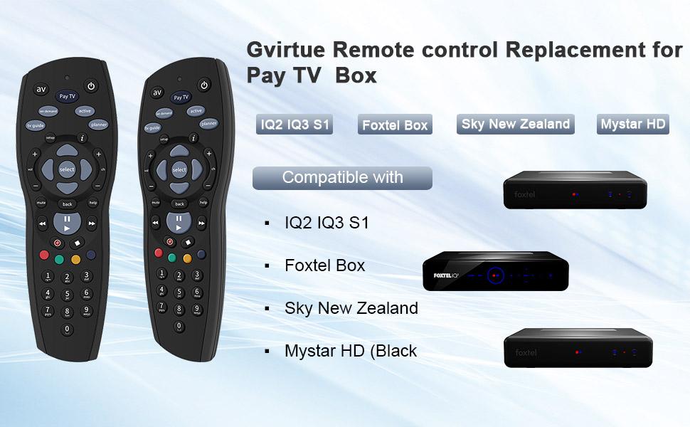 Pay TV box remote.