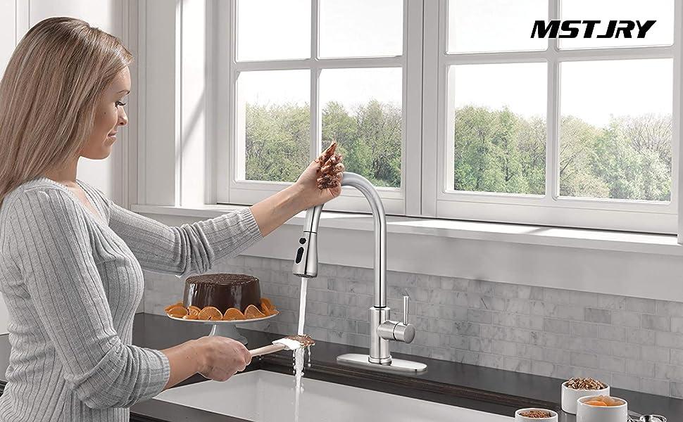 touch kitchen faucet