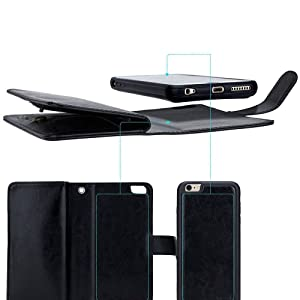iPhone 8 Wallet Case leather