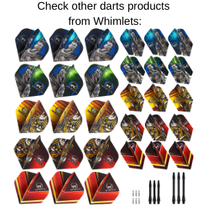 Whimlets Dart Flights and Accessories Kit