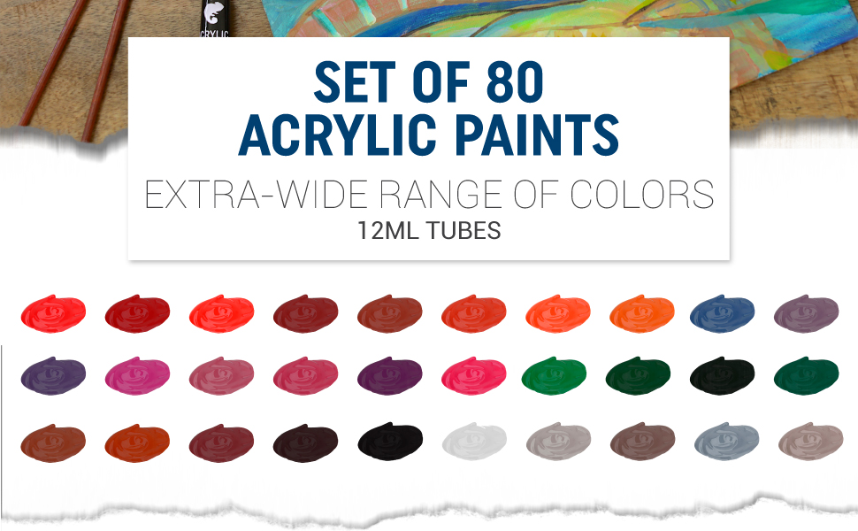 ACRYLIC PAINTS