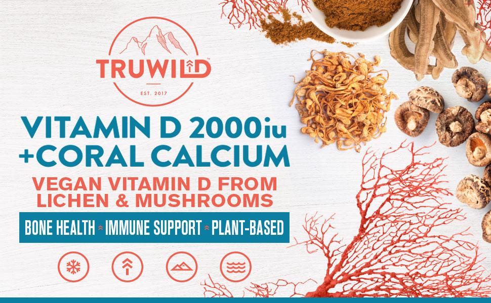 Bone Health, Immune Support, Vegan, Vitamin D