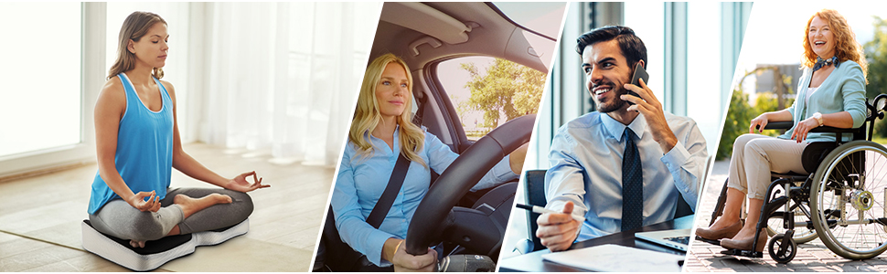 car seat cushion back pain