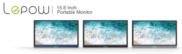 Lepow 15.6 inch 1080P Full HD portable monitor