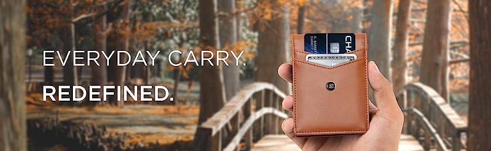leather full grain rfid blocking minimalist stylish wallet