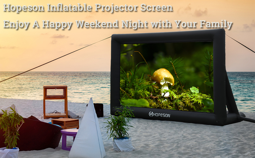 Outdoor Inflatable Movie Projector Screen