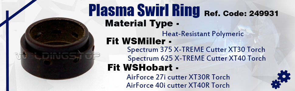 Miller Genuine Consumables 249931 Swirl Ring