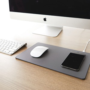 mouse pad, wireless charging