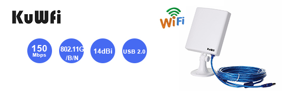 KuWFi Long Range Outdoor WiFi Extender