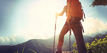 gear up for hiking