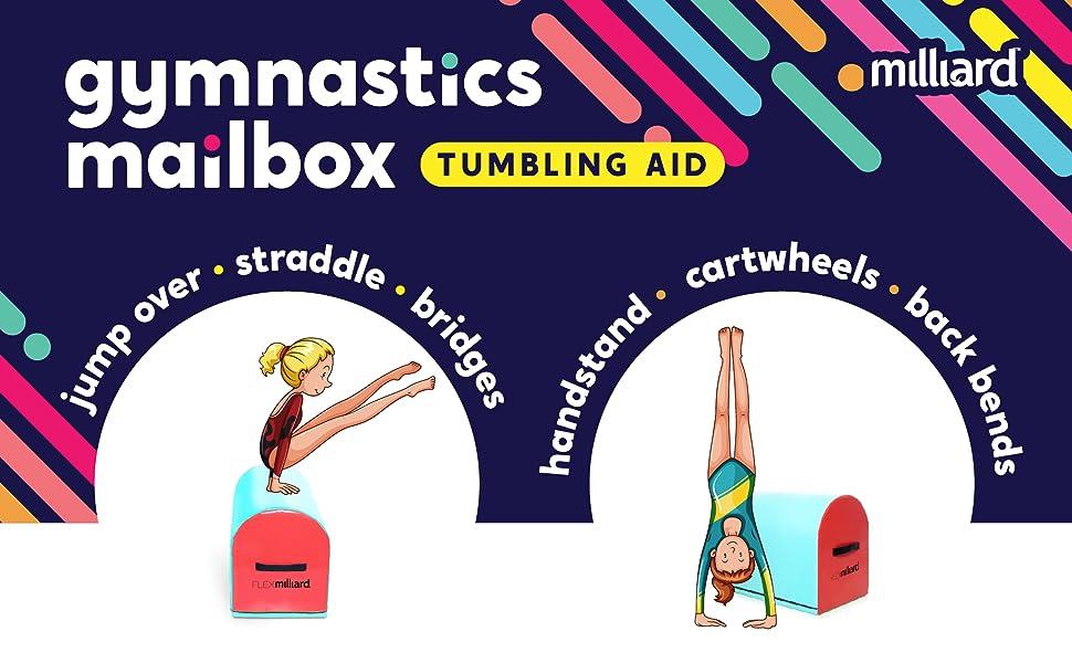 gymnastics mailbox tumbling aid