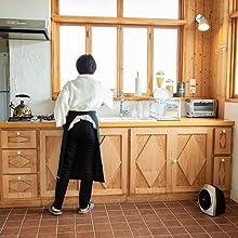 ヒーター キッチン 台所 足元寒い