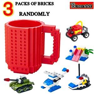 BOMENNE Build on Brick coffee mugs