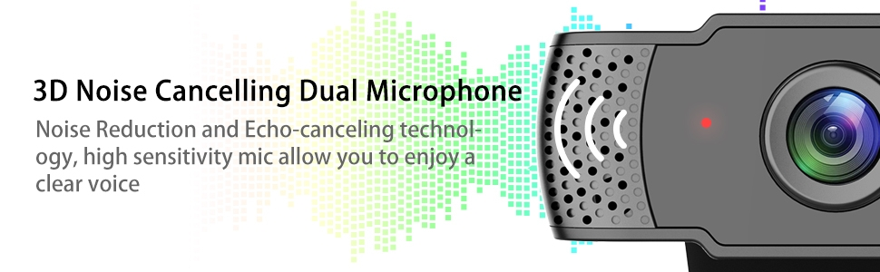 webcam with microphone for laptop
