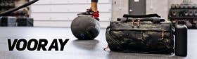 vooray mens womens gym duffle bag travel duffel shoe pocket wet pocket water bottle pocket shoulder