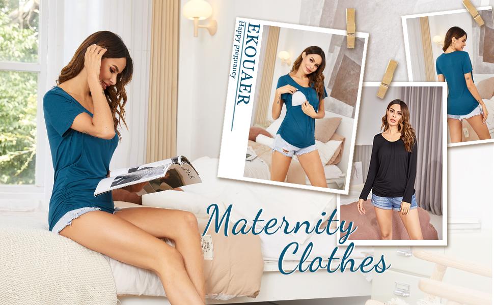 maternity nursing top shirt for women