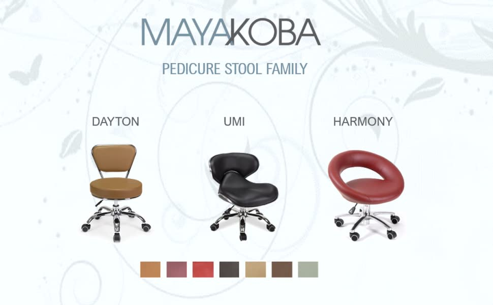 MAYAKOBA Pedicure Stool Family - UMI