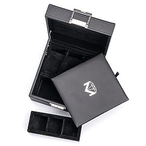 Makronen Mini Schmuckbox Schmucketui Schmuck Schatulle Aufbewahrungsbox WRDE