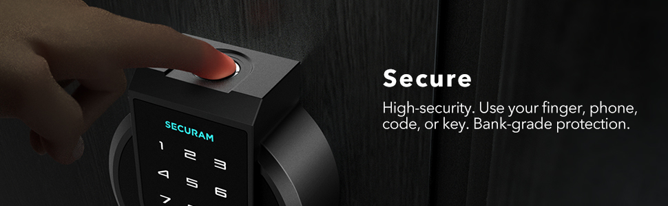 SECURAM Touch Keyless Entry Door Lock