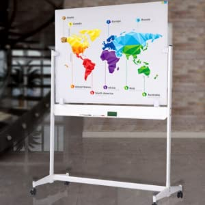 ZHIDIAN Mobile Glass White Board on Stand