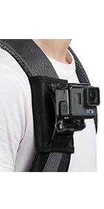 backpack strap mount for gopro hero 7