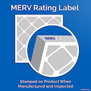 MERV, filter, air, clean, virus, bacteria