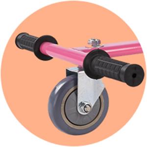 360 degree swivel wheel