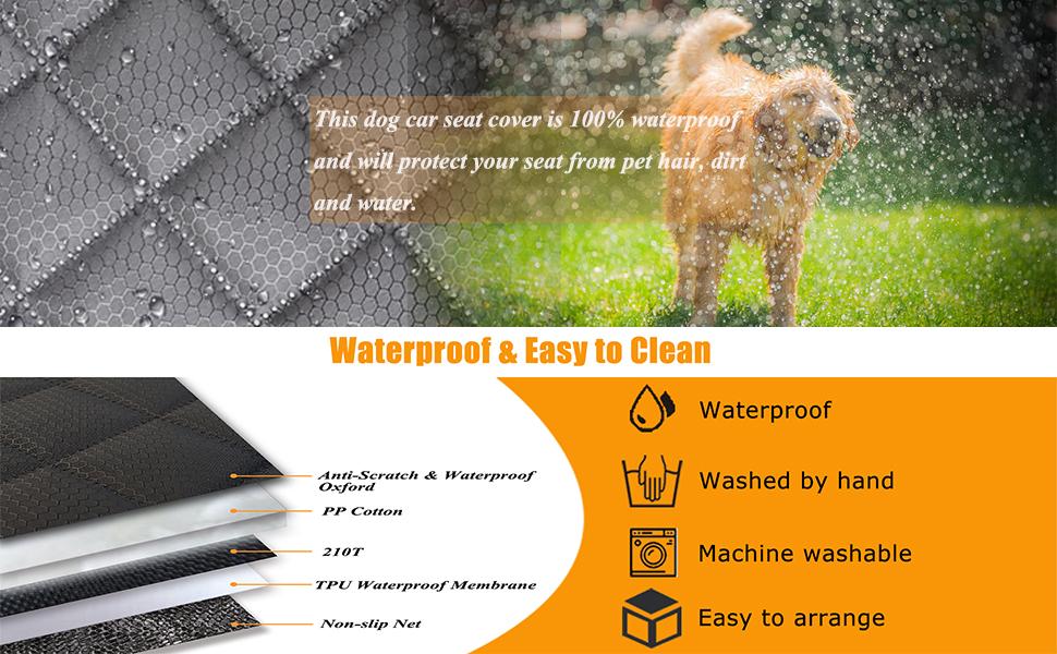 Waterproof & Easy to Clean