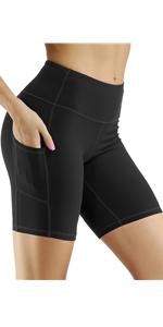 Yoga Shorts with Pockets