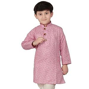 pink ethnic kurta
