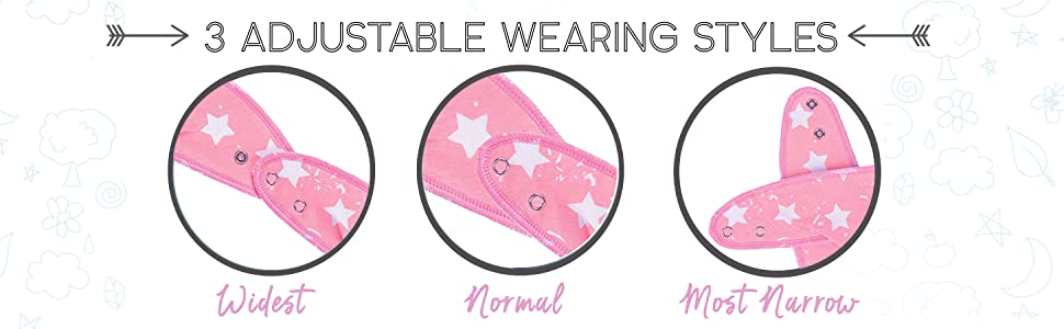 with pacifier kiddystar ana cute banana pink grey upsimple matimati cloths absorbent clothes shower