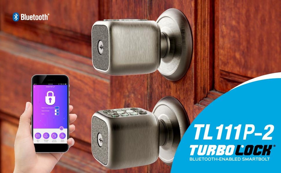 Door Knob-Style for Keyless/& TURBOLOCK TL-111 Digital Door Lock with Keypad