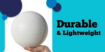 durable, lightweight pvc water volleyball