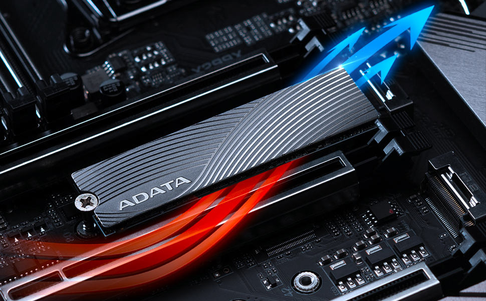 ASWORDFISH-1T-C ADATA Swordfish 1TB 3D NAND PCIe Gen3x4 NVMe M.2 2280 Read//Write up to 1800//1200MB//s Internal SSD
