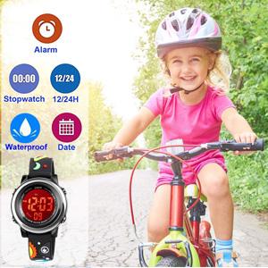Multifunction kids digital watch