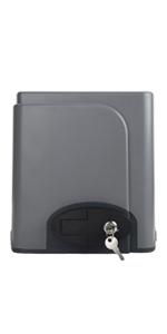Hiram 200W Motor para Puertas Correderas Capacidad de 600kg Abridor de Puerta Inteligente con Control Remotos Abridor para Puerta Corredera (200W): Amazon.es: Bricolaje y herramientas